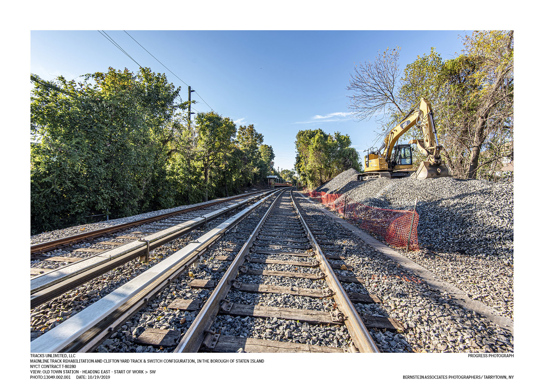 MAINLINE TRACK REHABILITATION AND CLIFTON YARD TRACK & SWITCH CONFIGURATION, IN THE